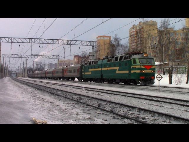 Электровоз ЧС7-276 с поездом №66 Тольятти — Москва