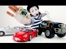 Best for children Mime Alex and transformer car Лучшее для детей Мим Алекс и машина трансформер