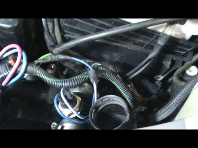 ситроен-С3-переделка системы охлаждения