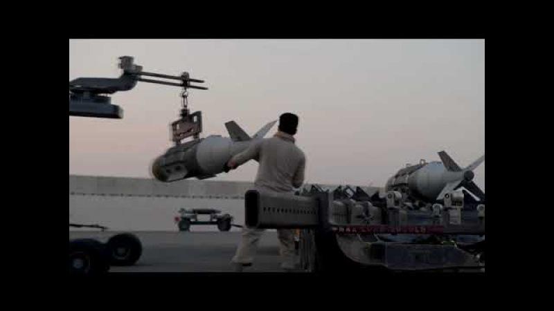 El poderoso US B 52 Stratofortress en acción Carga, mantenimiento, reabastecimiento en pleno vuelo