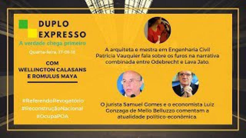Belluzzo: mídia tenta fazer colar um tal 'Lula radical' mas ele já governou - Duplo Expresso 17-1-18