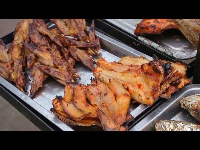 Камбоджийская Уличная Еда - Азиатская-Пномпень-Кхмерская Уличная Еда.
