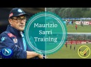 Тренировки Maurizio Sarri Training SSC Napoli