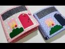 Кукольные домики 13 и 14 Мягкая развивающая книжка Soft house