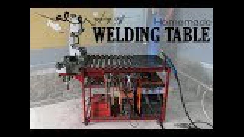 Homemade WELDING TABLE (rotary table) - Tự làm bàn hàn
