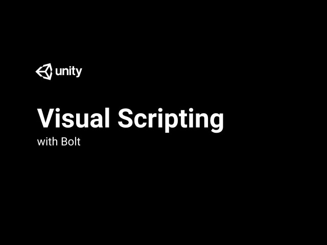 Visual Scripting With Bolt Introduction and Setup 1 3 Live 2018 3 14