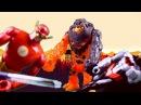 Супергерои видео для детей. БЭТМЕН и ФЛЕШ - ПОБЕДА НАД ГЛИНОЛИКИМ! Часть 2