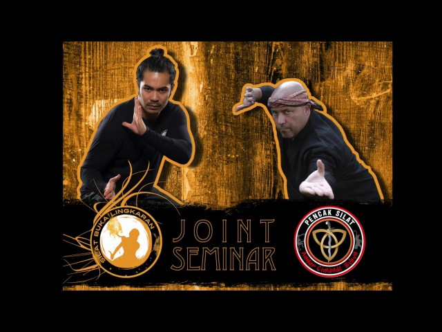 Joint Silat Seminar with Johnny Silmon and Alvin Guinanao 21/02/16