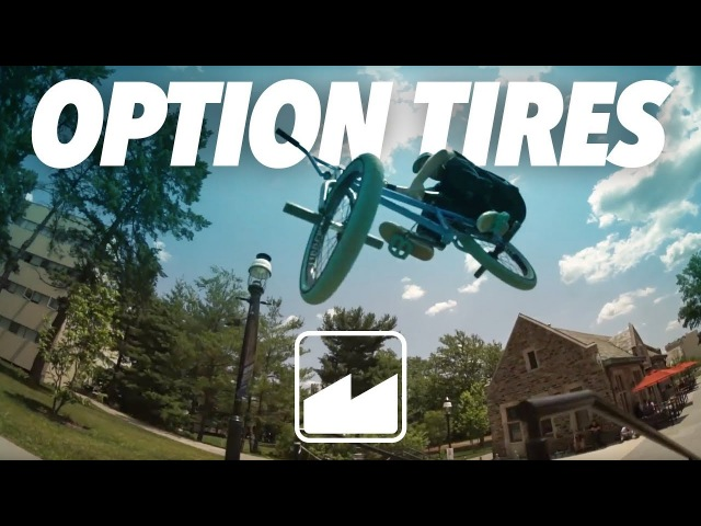 MERRITTBMX: OPTION TIRE QUICKIE WITH BILLY PERRY AND CASEY STARLING insidebmx