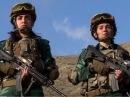Женщины на страже госграницы Азербайджана.