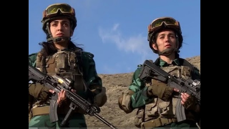 Женщины на страже госграницы Азербайджана