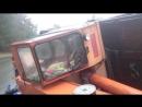 Автокран перевернулся в Бердске