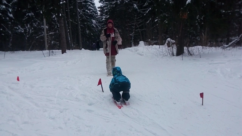 Сноуборд уроки_Школа SB69.PRO_Арсений 4 года_11.02.18