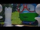 Веселый паровозик Тишка - Новый вратарь