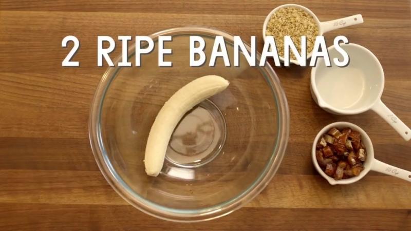 Banana-Oatmeal Snack Cookies