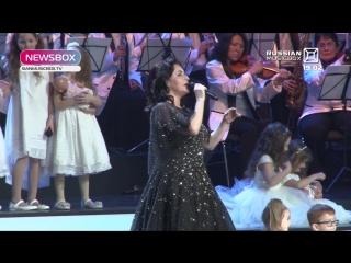 Юбилейный Бенефис Тамары Гвердцители в Кремле (NewsBox на канале Music Box, эфир от 21.02.2018)