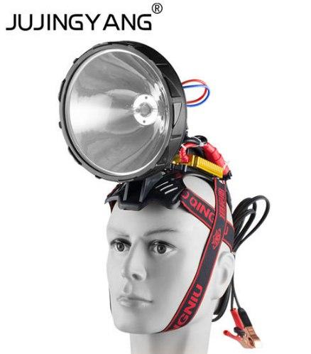 Налобный фонарь для тех у кого крепкая шея