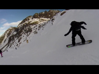 Last GoPro Run Of The Day In Stubai With- Halldor, Ethan Tor