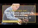5 Minutes On... Mozart - Piano Concerto No. 23 Daniel Barenboim subtitulado