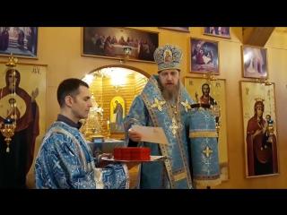Проповедь епископа Иоанна и награждение клириков и мирян г. Воркуты 04.01.18