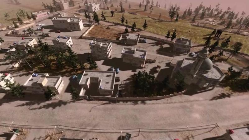 Etudes of war (from Syrian Warfare game) -Этюды войны Видео из игры Сирия- Русская буря