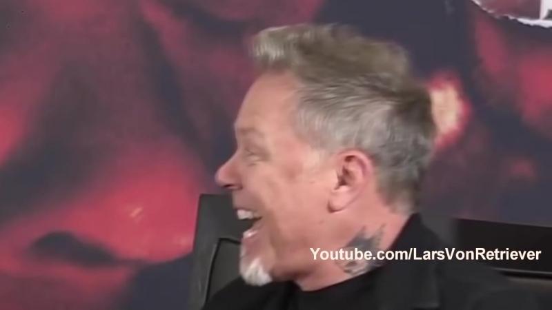 Metallicas James Hetfield ft. Kirk HammettLars Ulrich - Spit Out The Laugh (LaughCover) [HD, 1280x720]