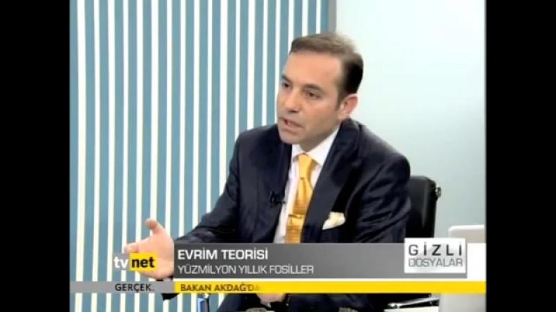 Dr Cihat Gundogdu TV Net Kanal Gizli Dosyalar programında evrim teorisinin gecersizligini anlat