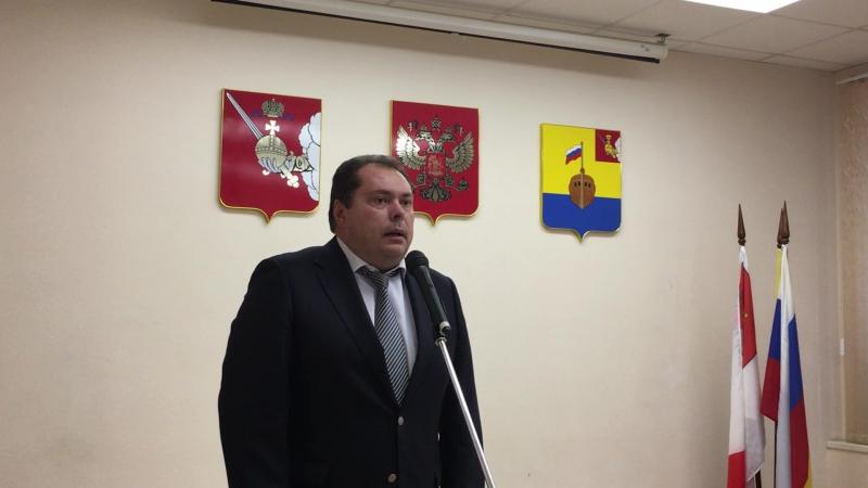 Владимир Зорин, начальник Департамента внутренней политики Правительства Вологодской области.