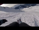 Riding my favorite lines in the Mont Gelé