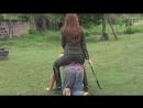 Riding a ponyboy by Daniela
