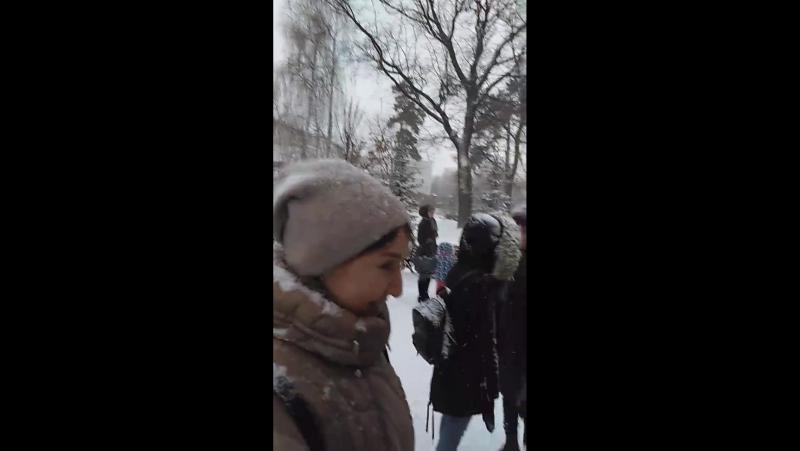 Розыгрыш конкурса в Парке Горького