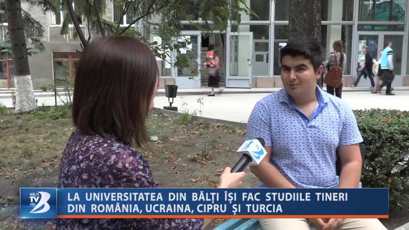 La universitatea din Bălți își fac studiile tineri din România, Ucraina, Cipru și Turcia