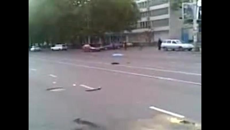 После аварии - другая камера утро около 7ми ч. 16.09.2008г.