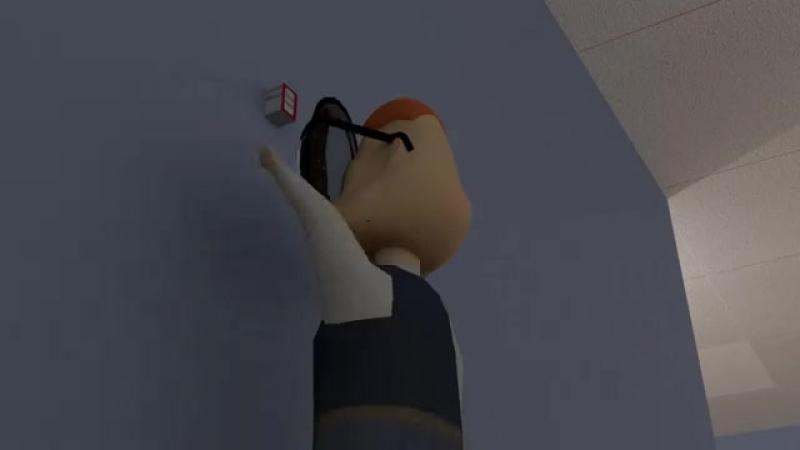 Дядя Страхуев и пожарная тревога (3D-пародия на Сп.mp4