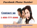 Dial Facebook Phone Number 1-850-777-3086 to pick up worthwhile solution