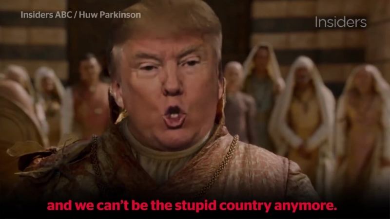 Is Donald J. Trump Fits In Game of Thrones ?