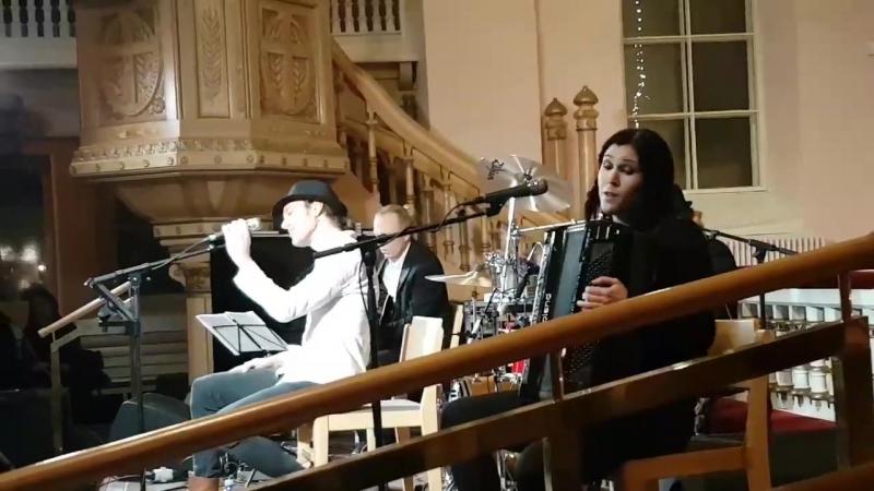 2016.12.21 JP Leppäluoto - Pieni rumpali [Little drummer] (Raahen Kirkko, joulukonsertti)