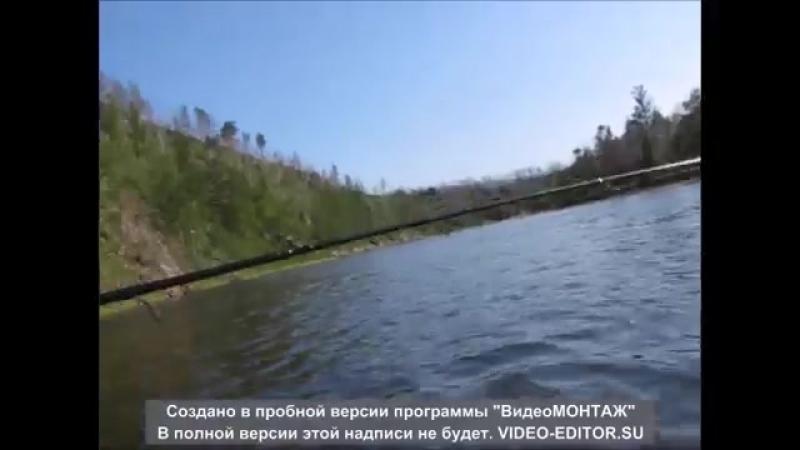 Рыбалка Забайкальский край Сплав по реке Черная yaclip scscscrp