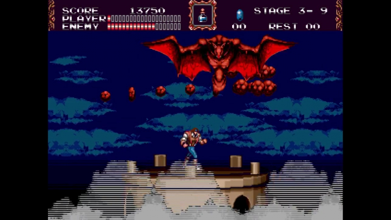 Castlevania Bloodlines (Morris, Expert) - 06 Gargoyle (No Dmg, Subwpns)