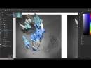 DOTA 2 Winters   Ancient Apparition - concept art. artstation dota2 drawing art