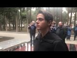 ALEKSEEV / Посещение памятника Муслиму Магомаеву / InstaStories @olegbodnarchuk