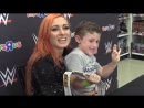 """WWE's Becky Lynch Meets Fans at Toys""""R""""Us in Brooklyn"""