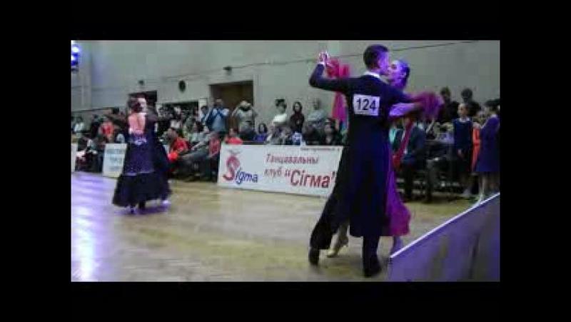 Танго Молодежь-Взрослые Финал Зимний бал 2018