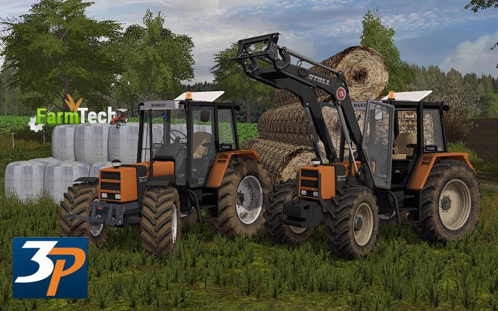 Трактор RENAULT 95.14