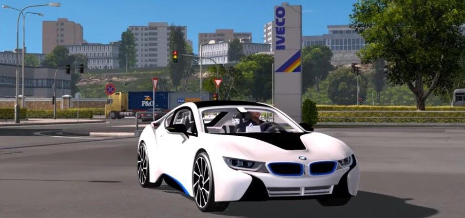 Автомобиль BMW i8 2016