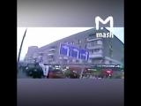 Видео наезда на остановку в Москве с регистратора автобуса 29.12.17