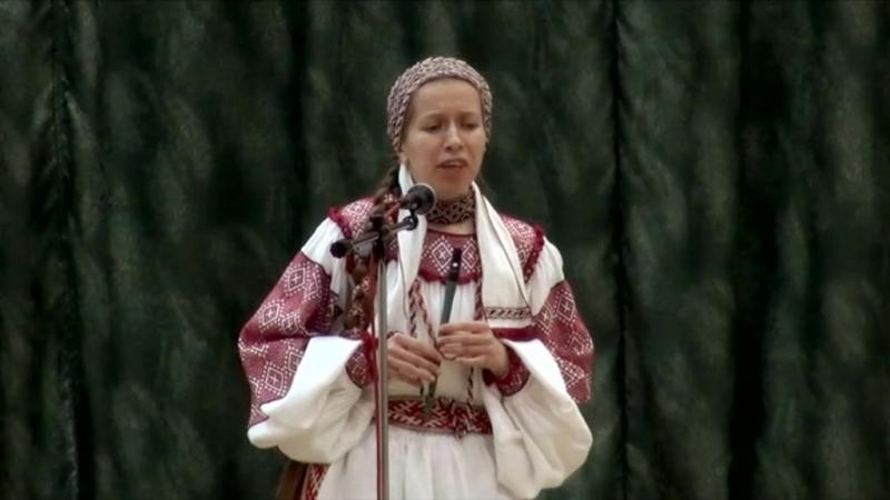 Вероника Антилевская. На том баку за рэчкаю.
