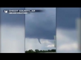 FUNNEL CLOUD SPOTTED - Check out this video from earlier on Monday in Lake Village, Arkansas. Thunderstorm chances continue for