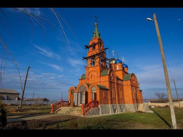 Посещение Пантелеимоновского храма с. Оксамитное