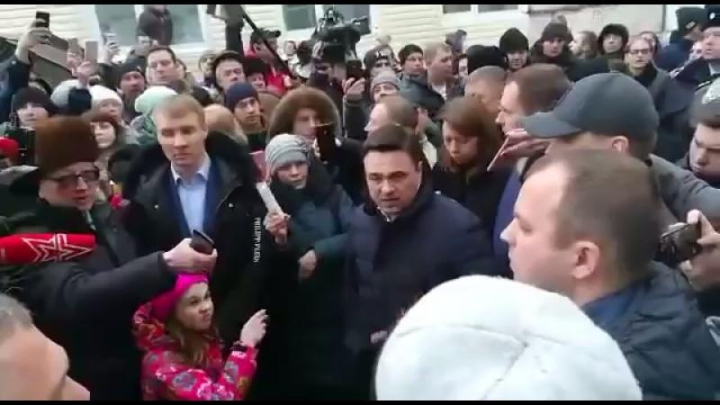 Арья Старк vs губернатор Воробьев